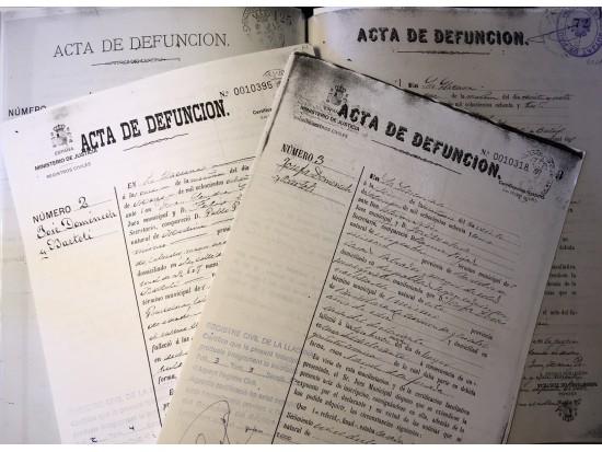 Certificats de defunció